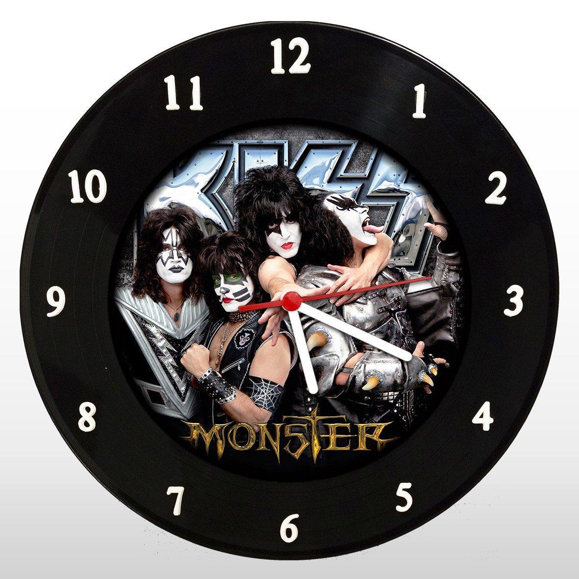 Kiss - Relógio de Parede em Disco de Vinil - Mr. Rock