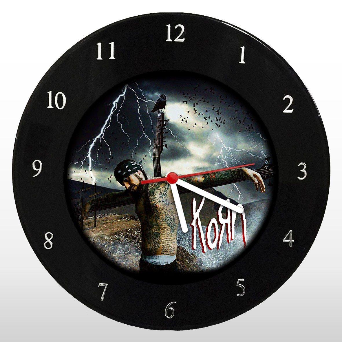 Korn - Relógio de Parede em Disco de Vinil - Mr. Rock