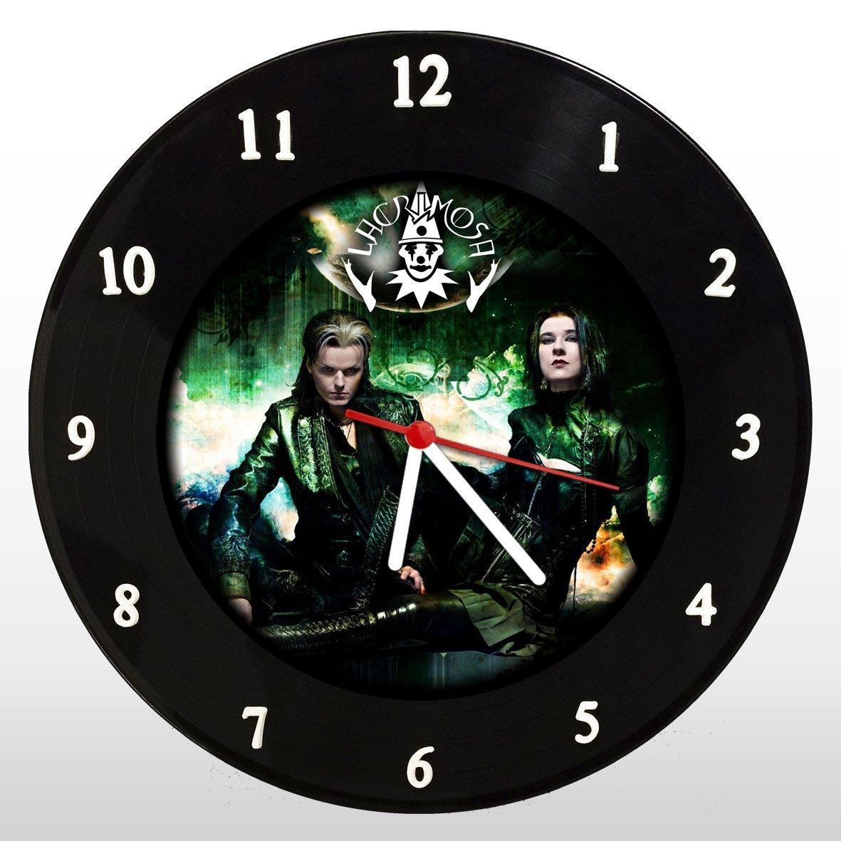 Lacrimosa - Relógio de Parede em Disco de Vinil - Mr. Rock