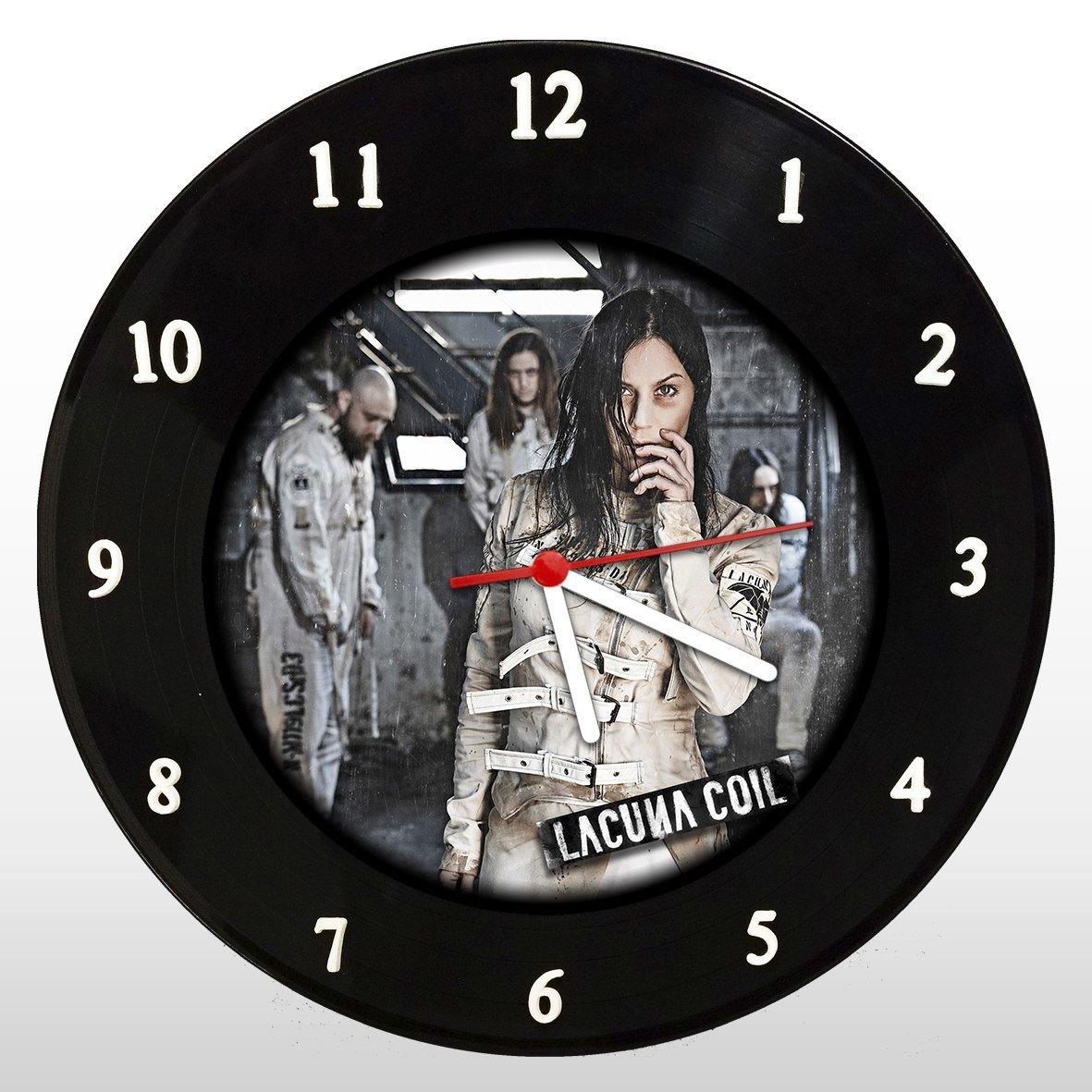 Lacuna Coil - Relógio de Parede em Disco de Vinil - Mr. Rock