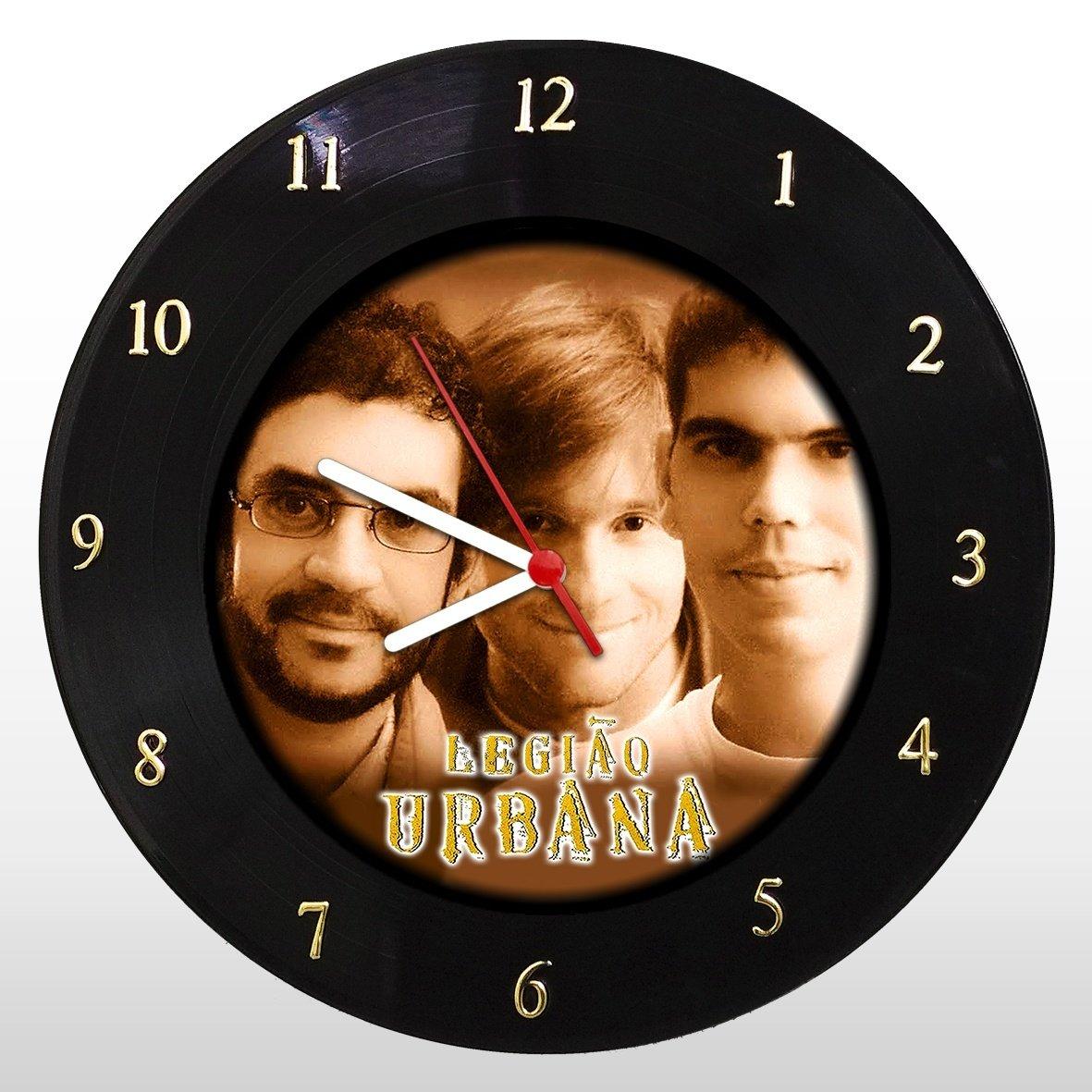 Legião Urbana - Relógio de Parede em Disco de Vinil - Mr. Rock