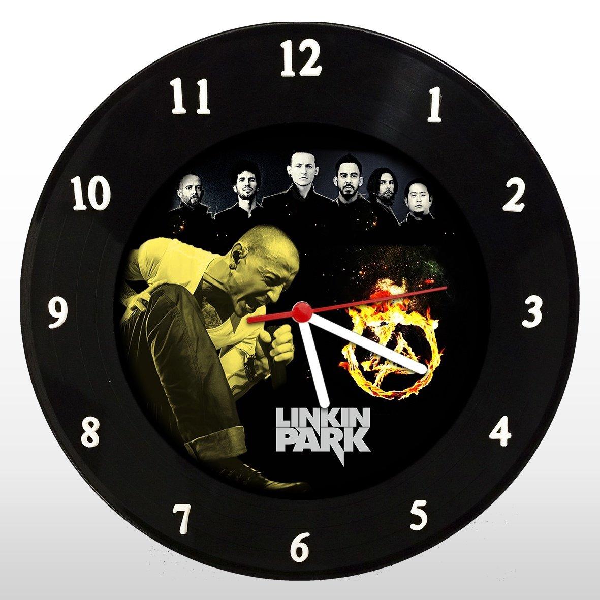 Linkin Park - Relógio de Parede em Disco de Vinil - Mr. Rock
