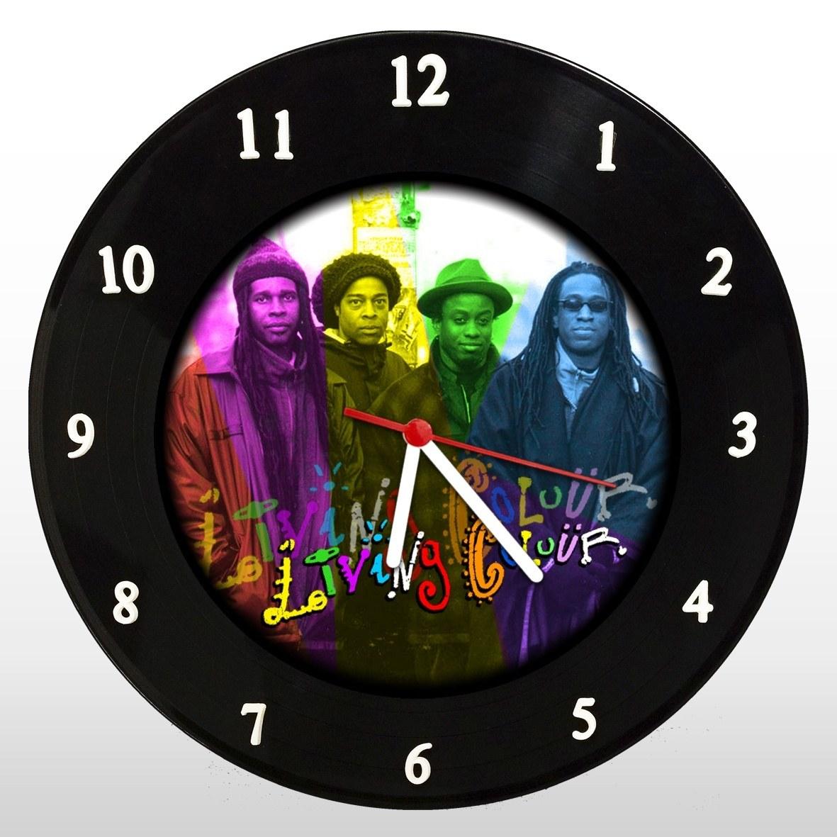 Living Colour - Relógio de Parede em Disco de Vinil - Mr. Rock