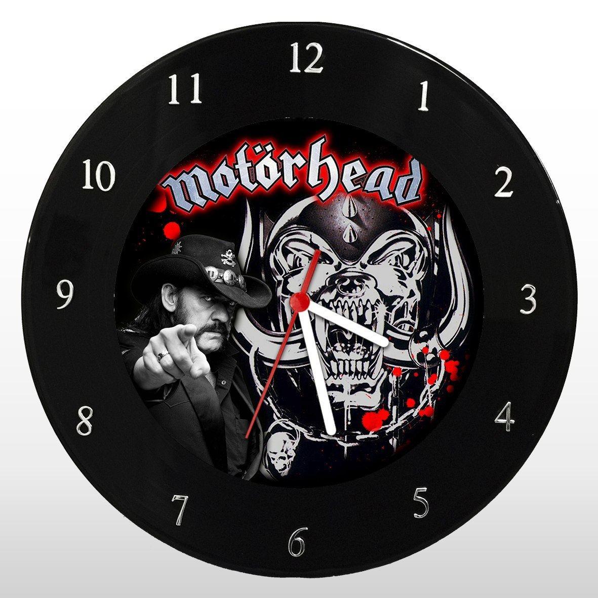 Motorhead - Relógio de Parede em Disco de Vinil - Mr. Rock
