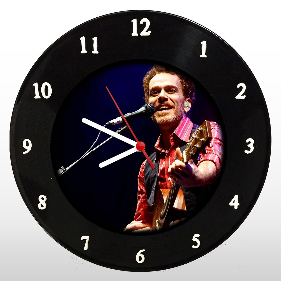 Nando Reis - Relógio de Parede em Disco de Vinil - Mr. Rock