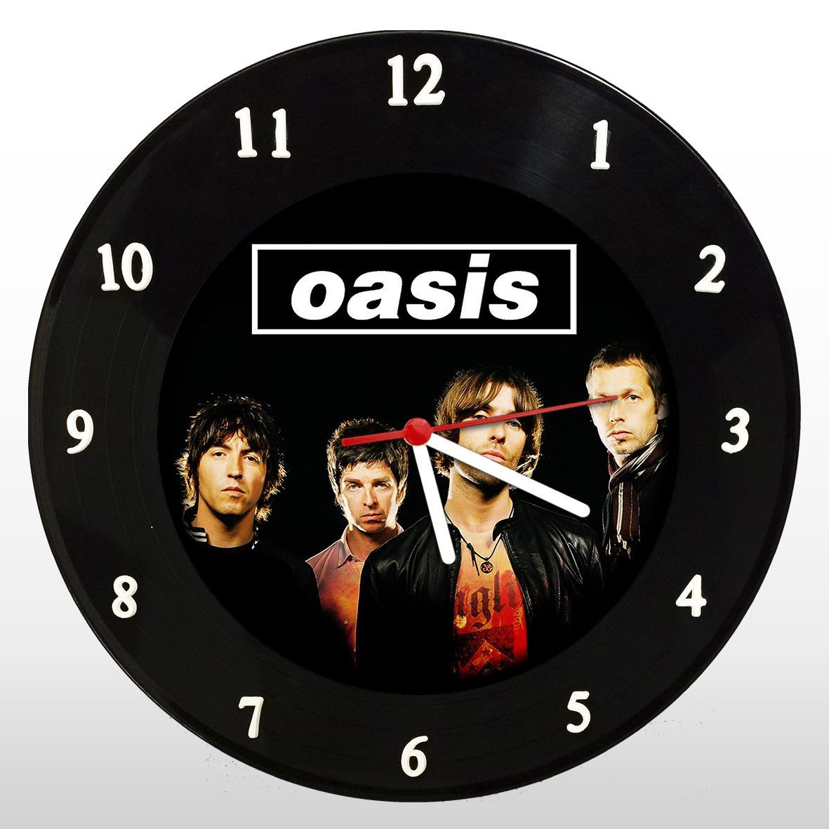 Oasis - Relógio de Parede em Disco de Vinil - Mr. Rock