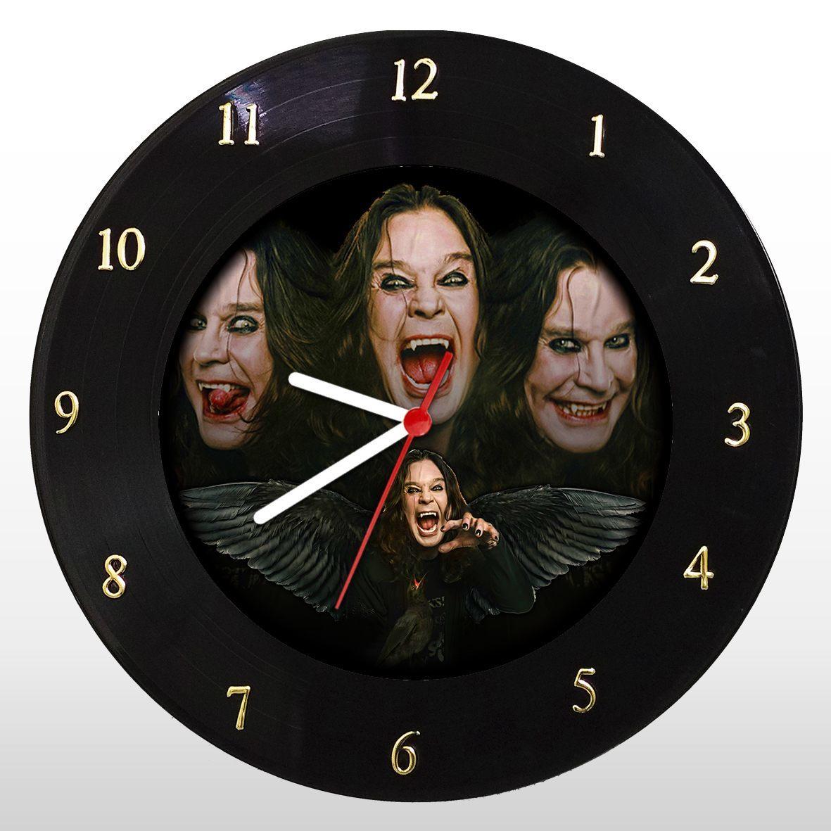 Ozzy Osbourne - Relógio de Parede em Disco de Vinil - Mr. Rock