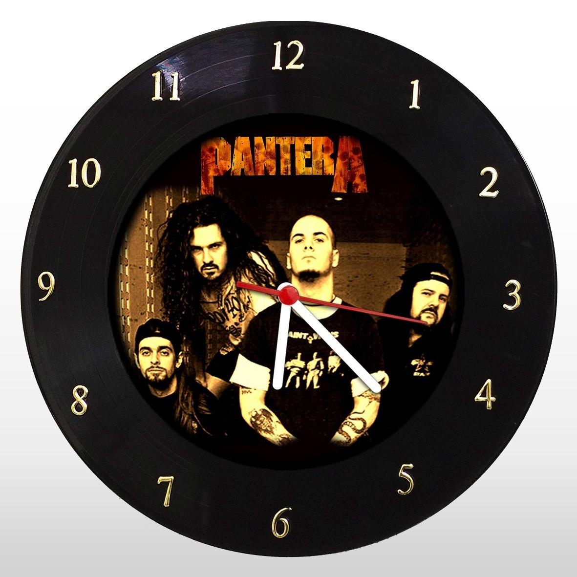 Pantera - Relógio de Parede em Disco de Vinil - Mr. Rock