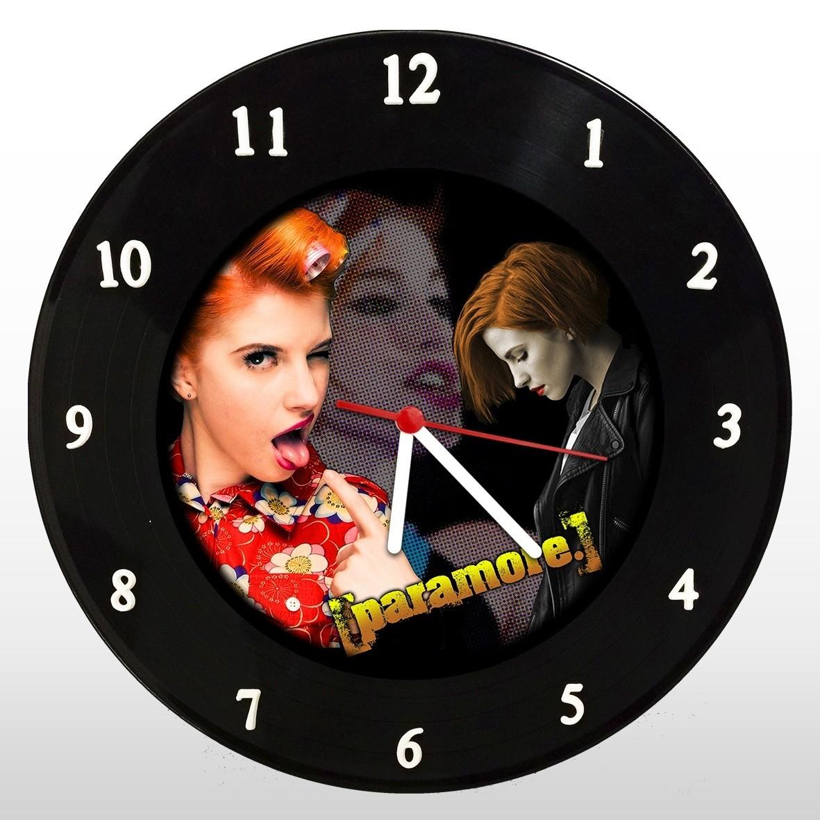 Paramore  - Relógio de Parede em Disco de Vinil - Mr. Rock
