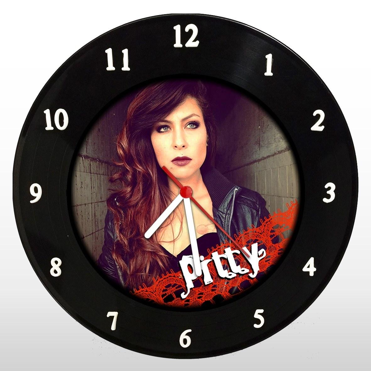 Pitty - Relógio de Parede em Disco de Vinil - Mr. Rock