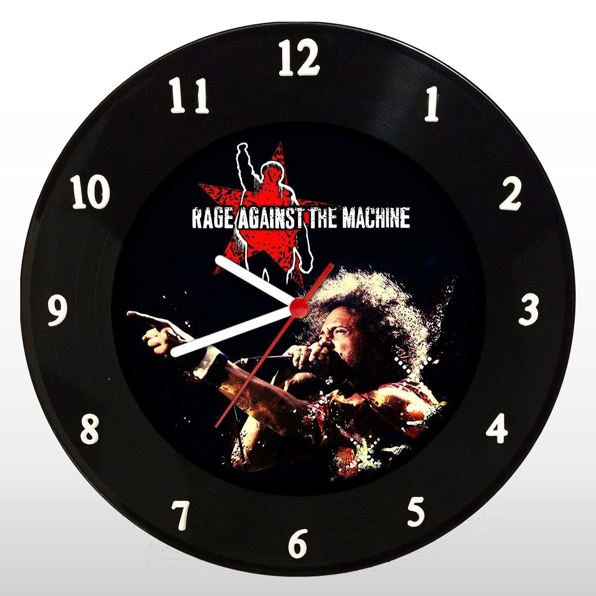 Rage Against The Machine - Relógio de Parede em Disco de Vinil - Mr. Rock