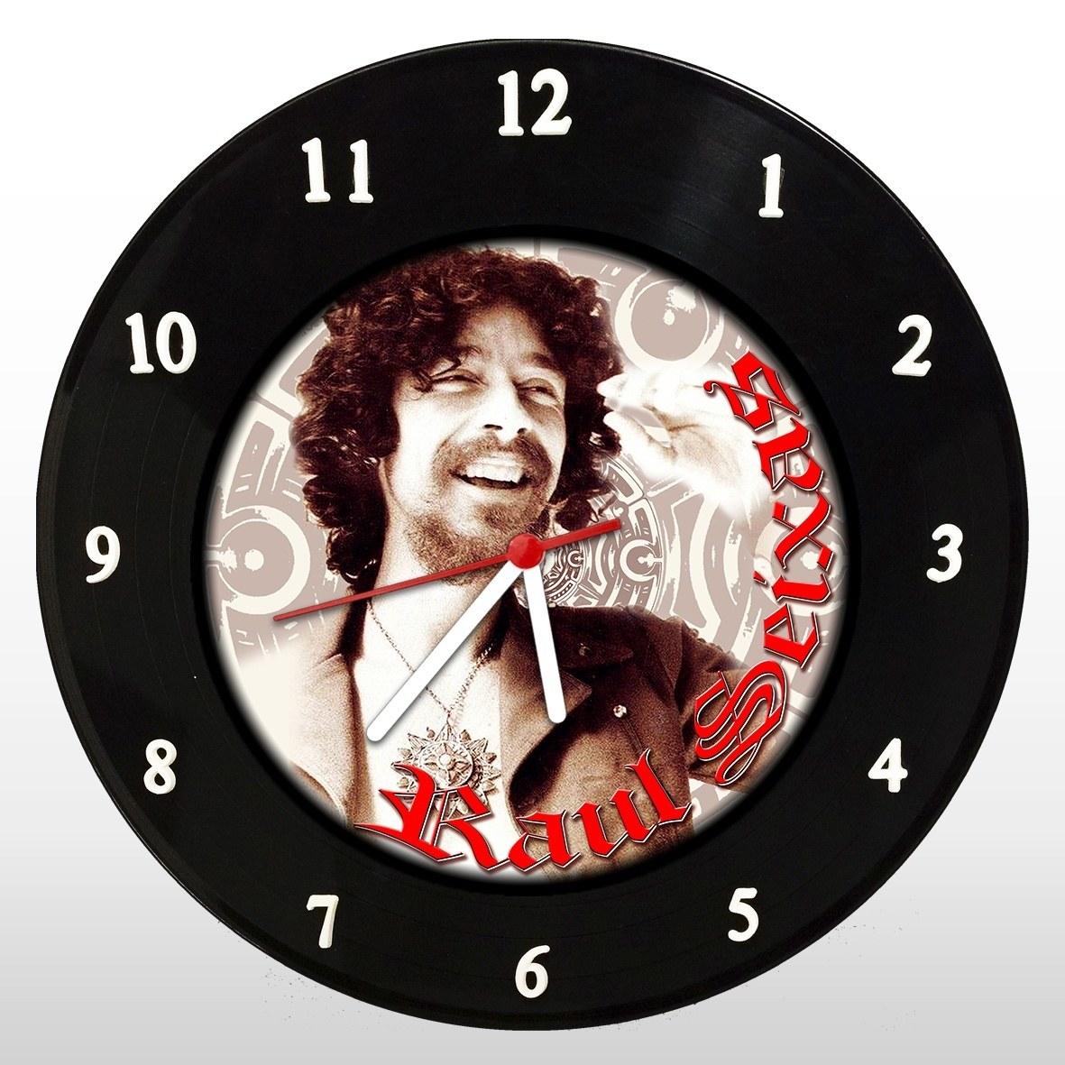 Raul Seixas - Relógio de Parede em Disco de Vinil - Mr. Rock