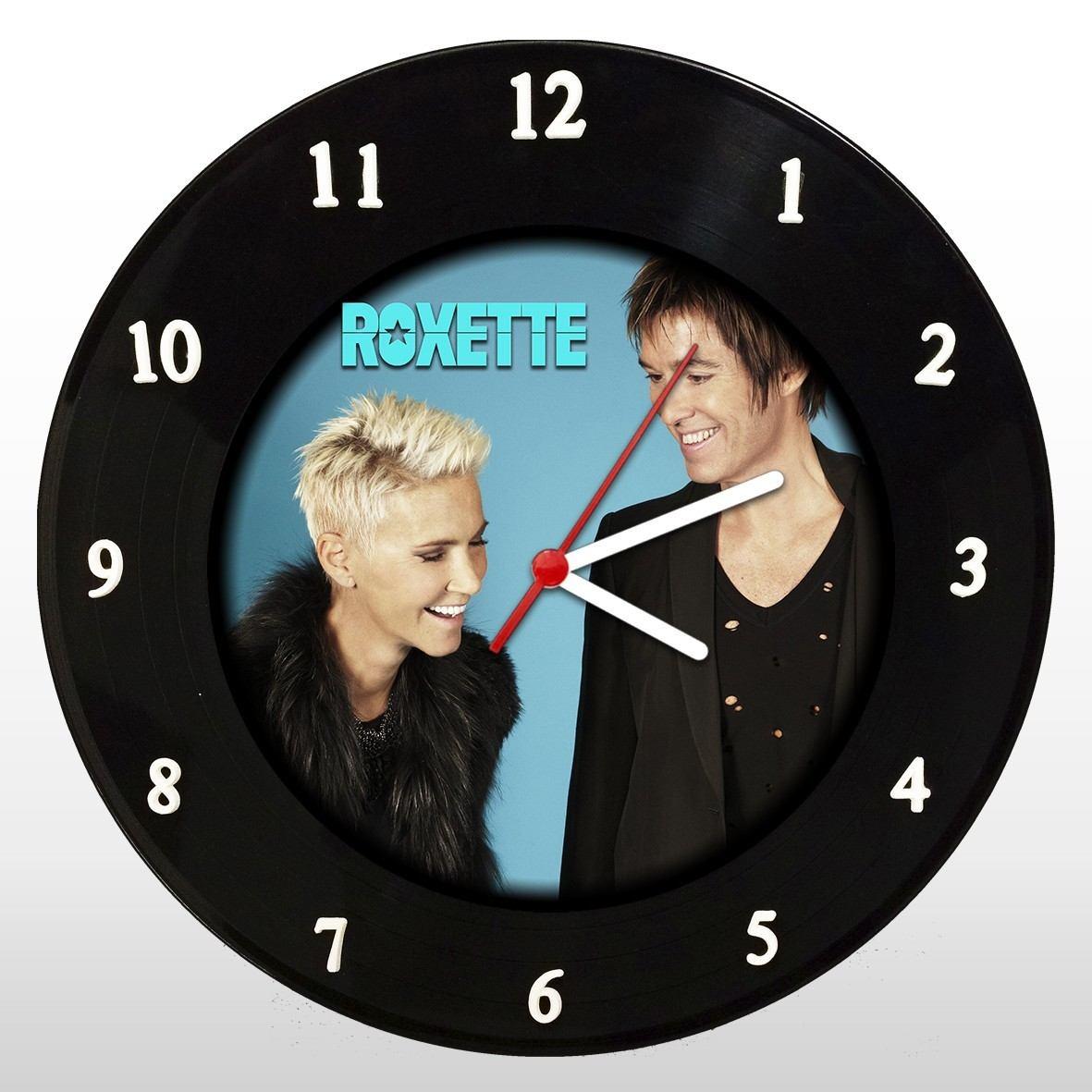 Roxette - Relógio de Parede em Disco de Vinil - Mr. Rock