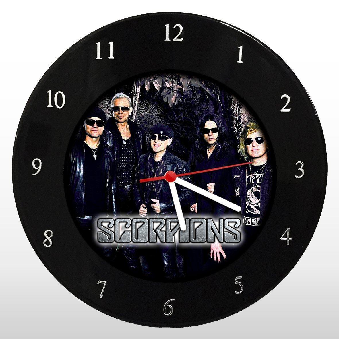 Scorpions - Relógio de Parede em Disco de Vinil - Mr. Rock