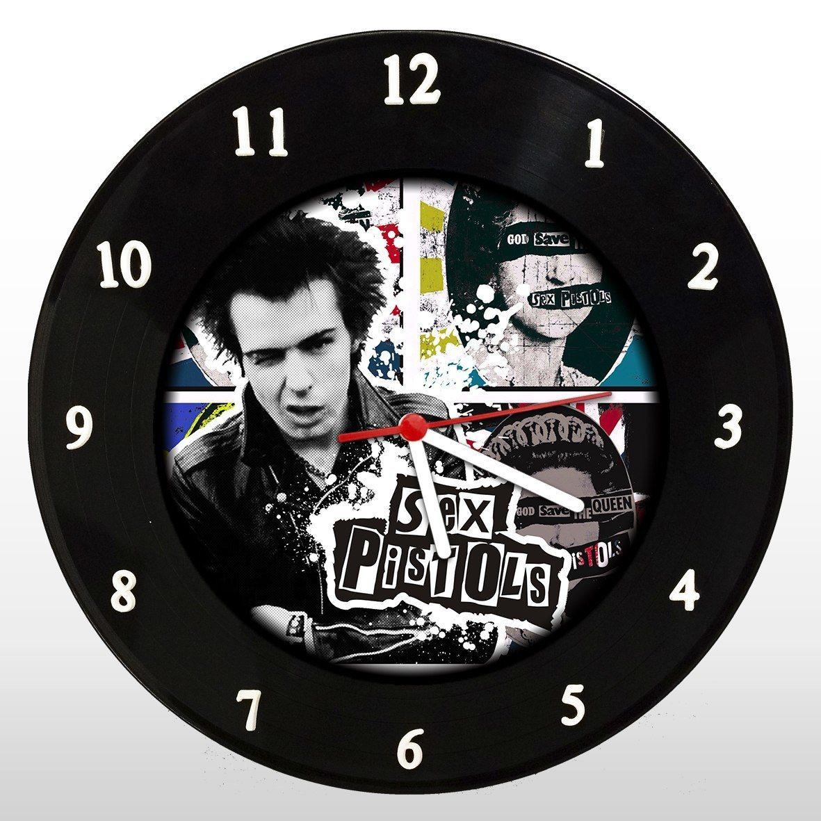 Sex Pistols - Relógio de Parede em Disco de Vinil - Mr. Rock