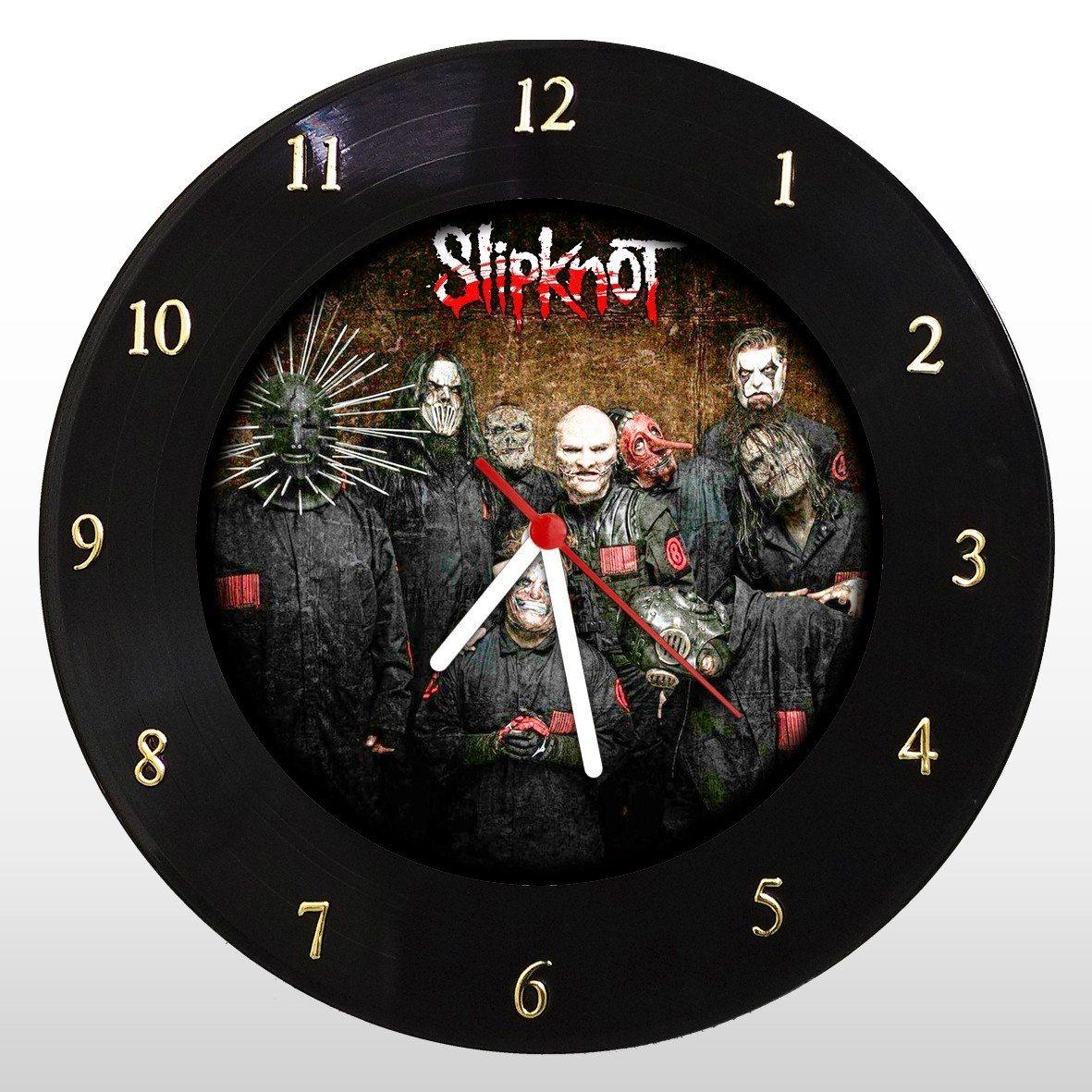 Slipknot - Relógio de Parede em Disco de Vinil - Mr. Rock