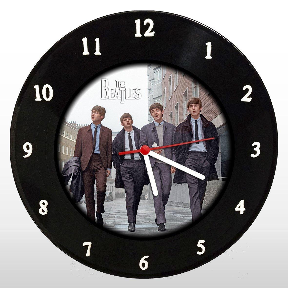 The Beatles - Banda - Relógio de Parede em Disco de Vinil - Mr. Rock