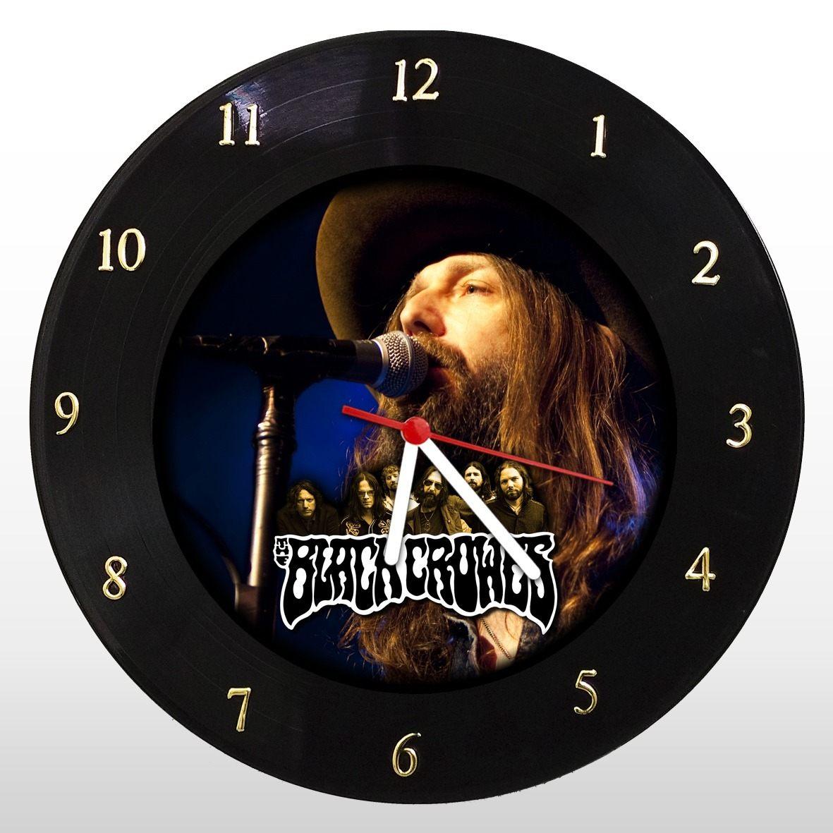 The Black Crowes - Relógio de Parede em Disco de Vinil - Mr. Rock