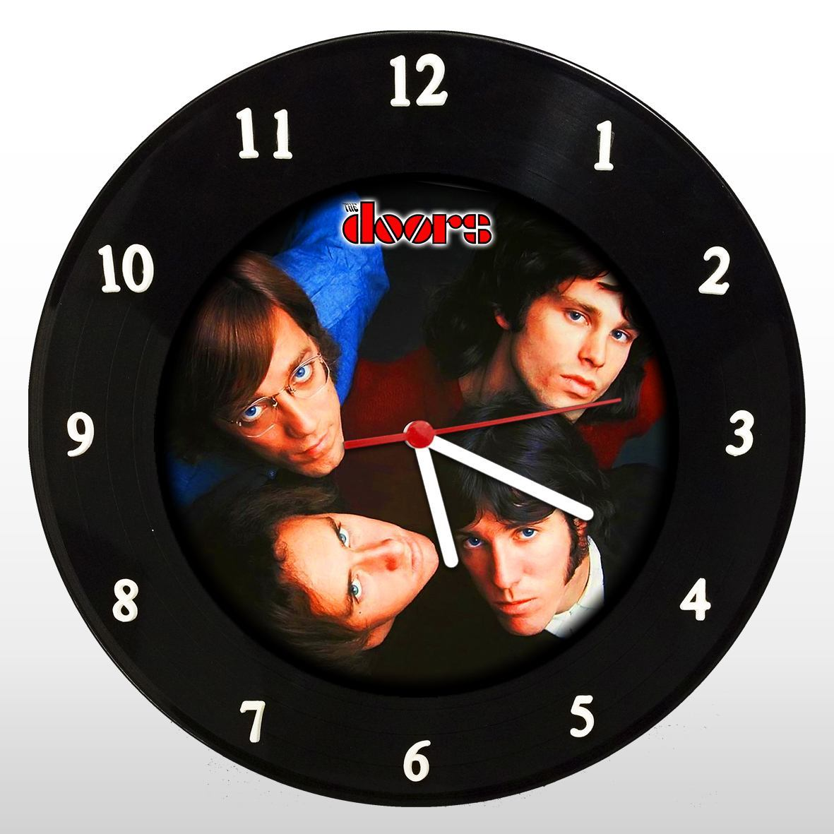 The Doors - Relógio de Parede em Disco de Vinil - Mr. Rock