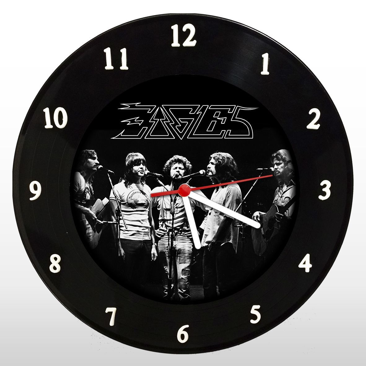 The Eagles - Relógio de Parede em Disco de Vinil - Mr. Rock