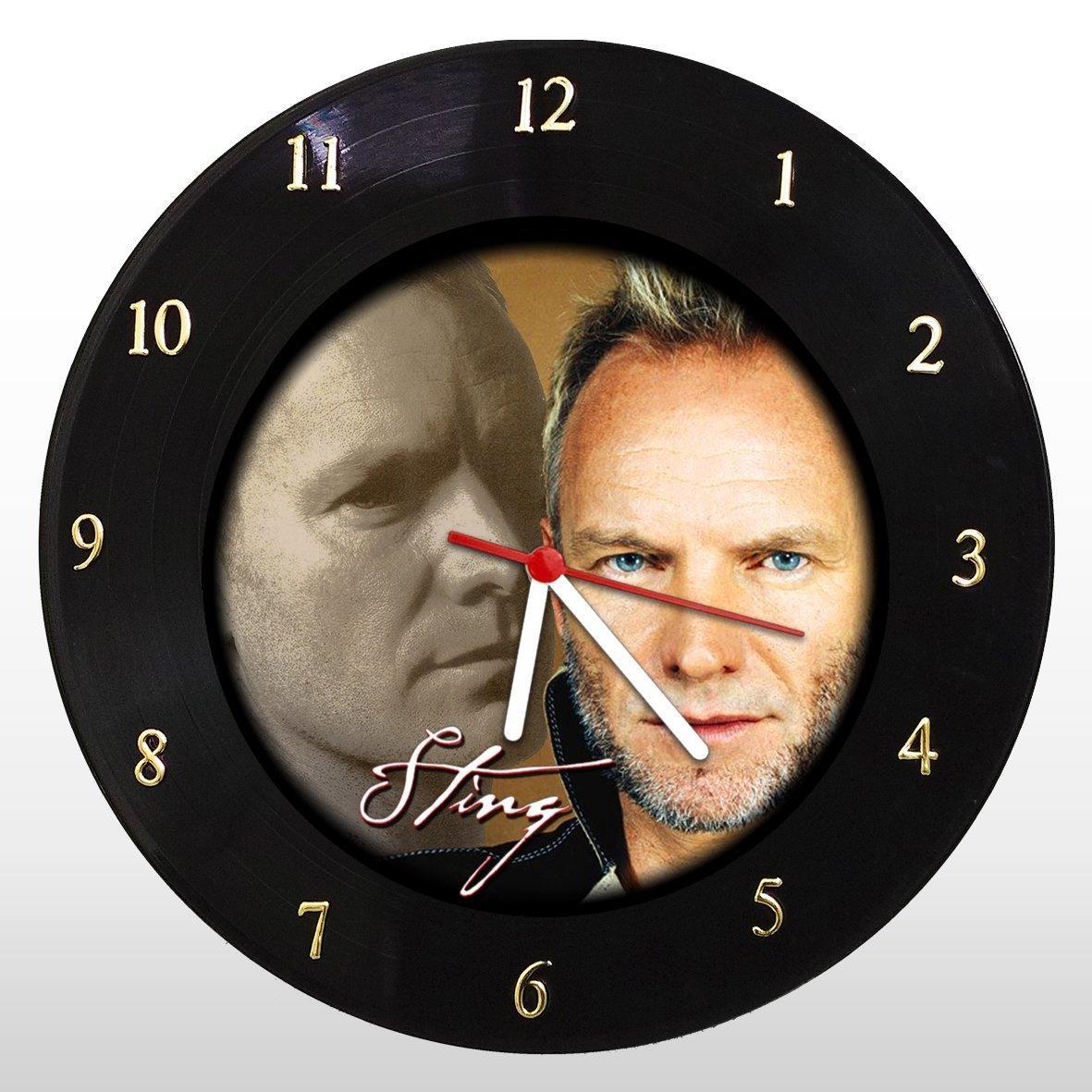 Sting - Relógio de Parede em Disco de Vinil - Mr. Rock