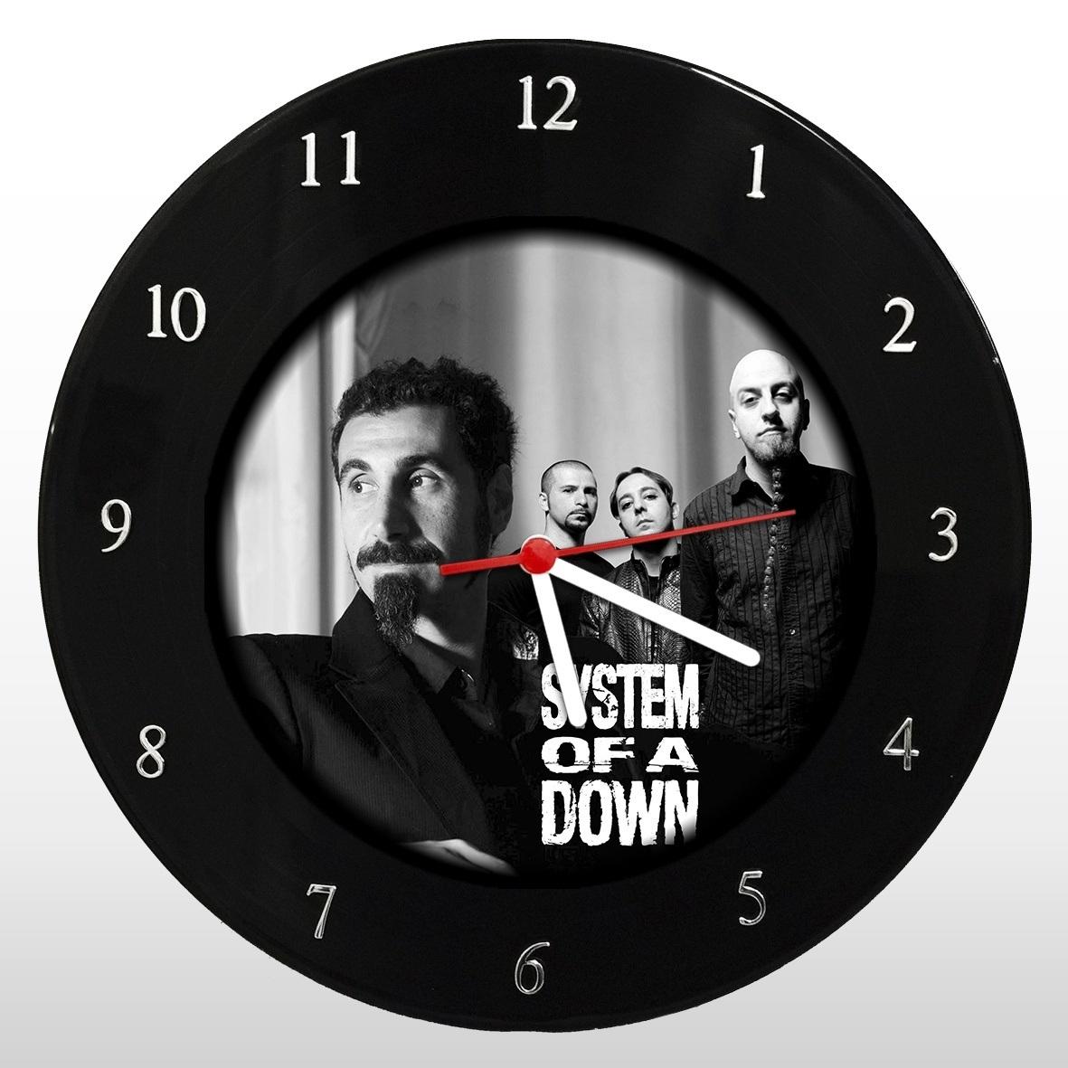 System Of A Down - Relógio de Parede em Disco de Vinil - Mr. Rock