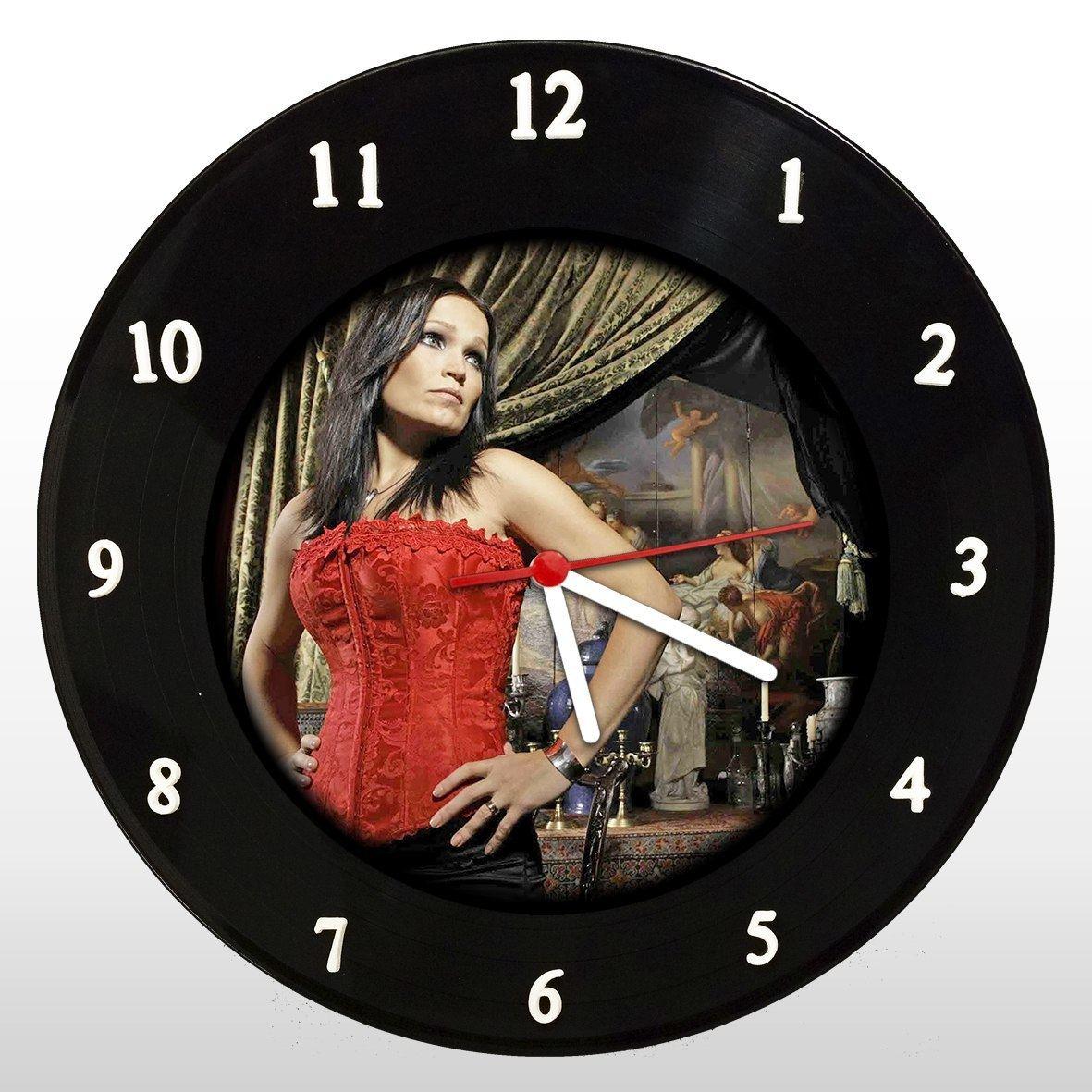 Tarja Turunen - Relógio de Parede em Disco de Vinil - Mr. Rock