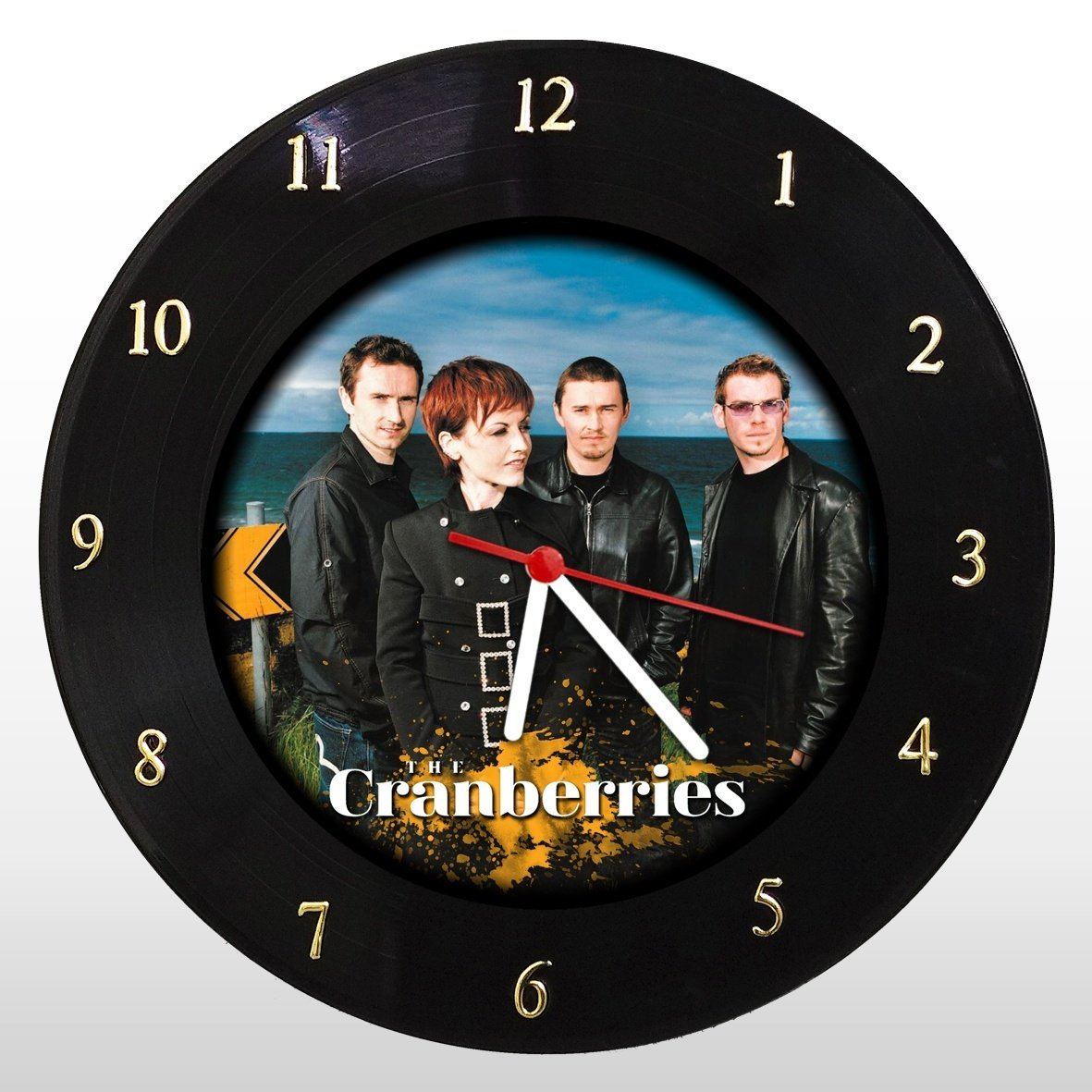 The Cranberries - Relógio de Parede em Disco de Vinil - Mr. Rock
