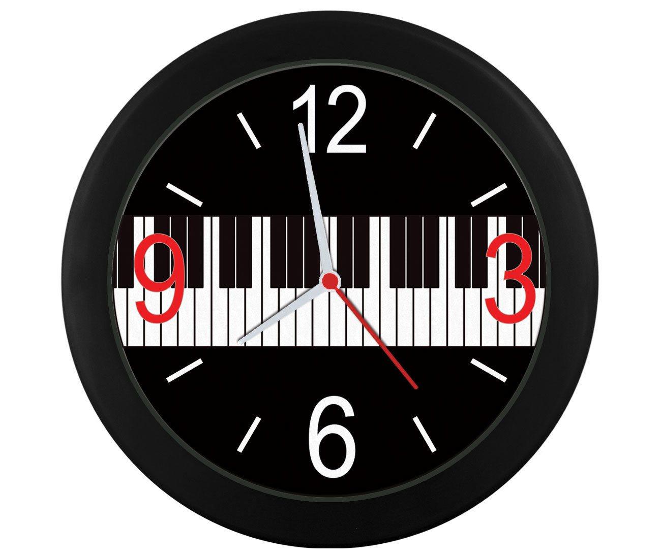 Relógio parede Teclas piano