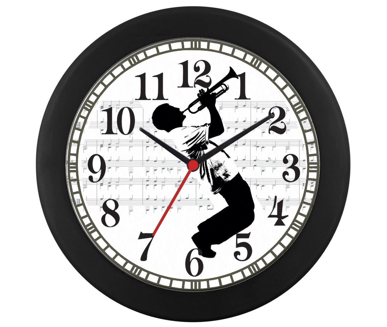 Relógio parede Trompete