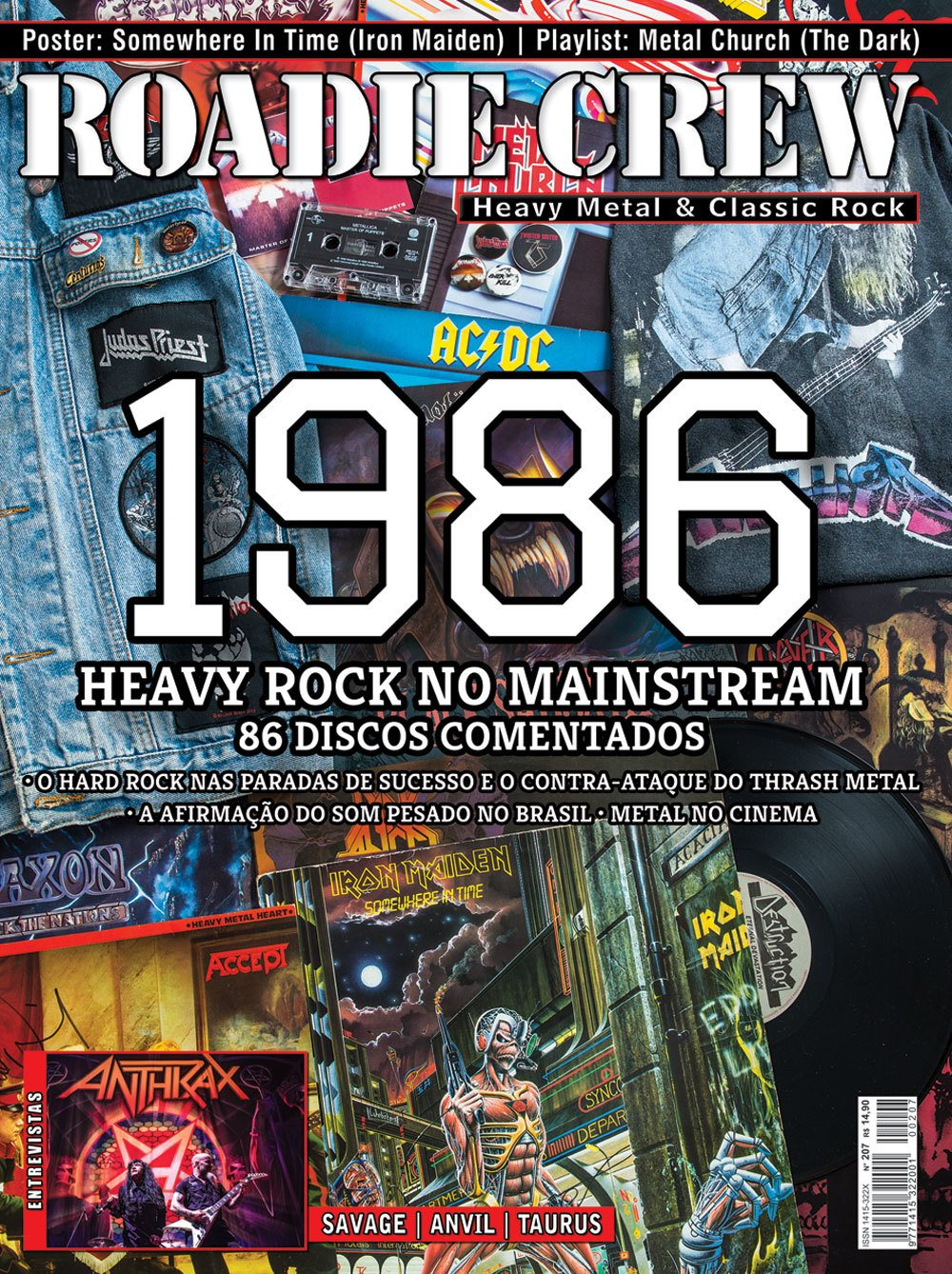 Revista Roadie Crew #208