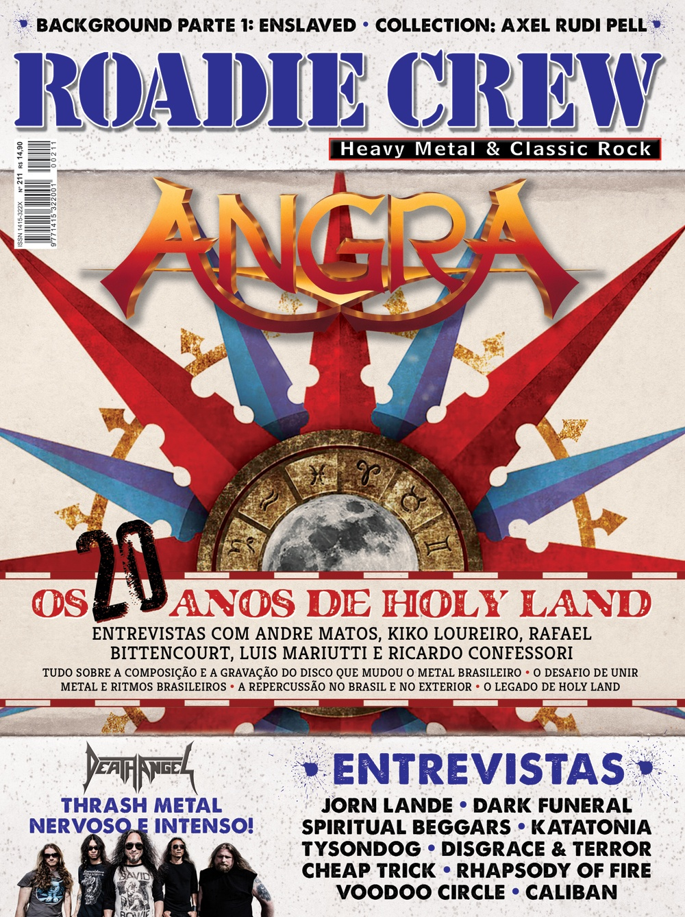 Revista Roadie Crew #211