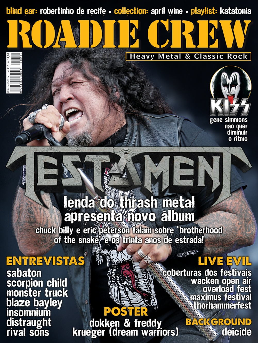 Revista Roadie Crew #213