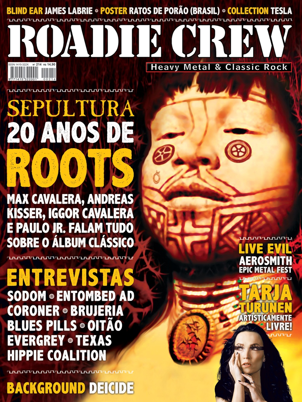 Revista Roadie Crew #214