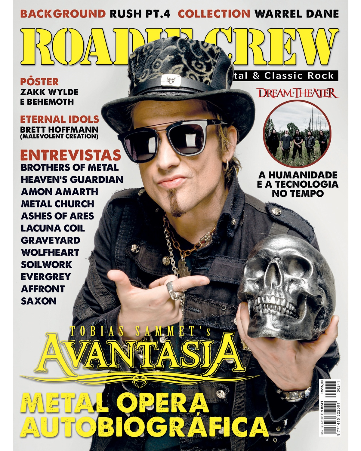 Revista Roadie Crew #241