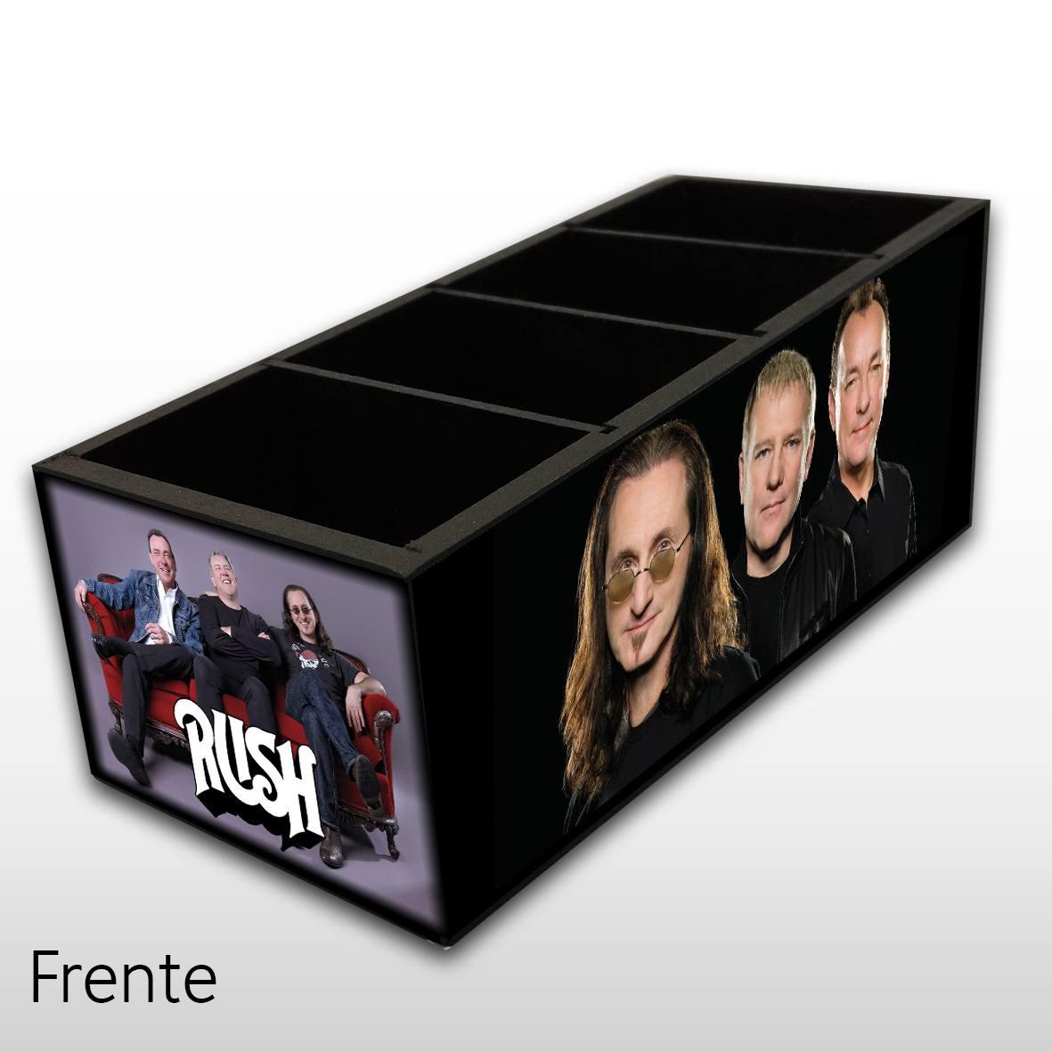 Rush - Porta Controles MDF - 4 Espaços - Mr. Rock