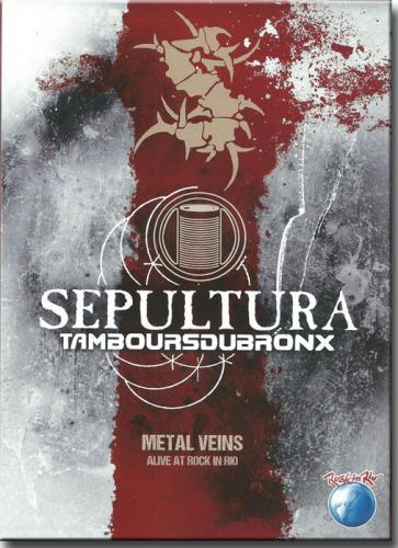 DVD Sepultura e Tamboursdubronx - Metal Veins - Alive at Rock in Rio