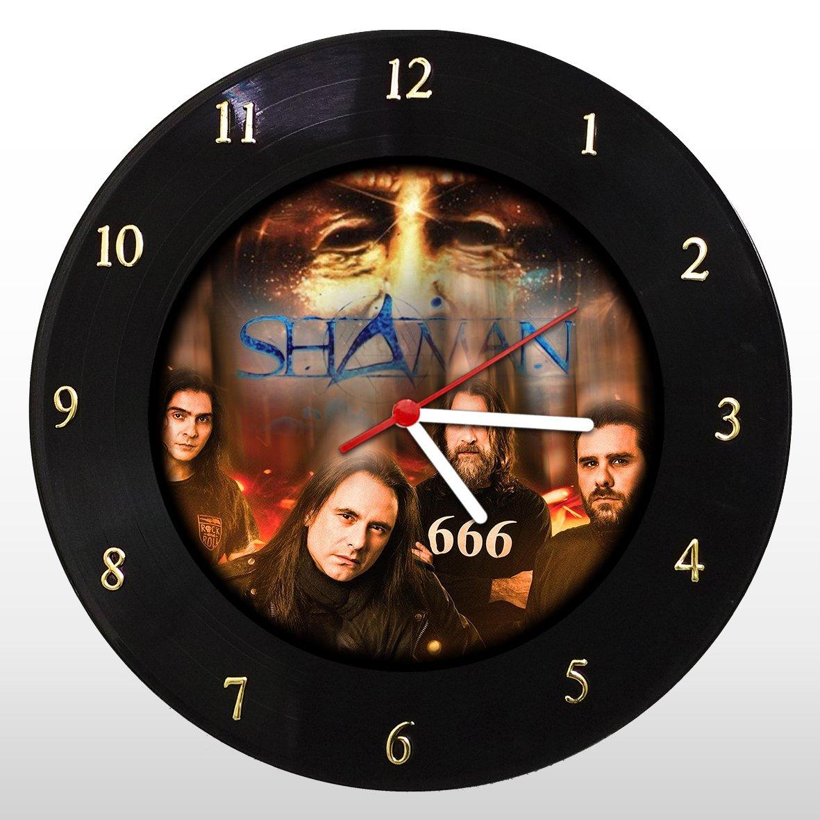 Shaman - Relógio de Parede em Disco de Vinil - Mr. Rock