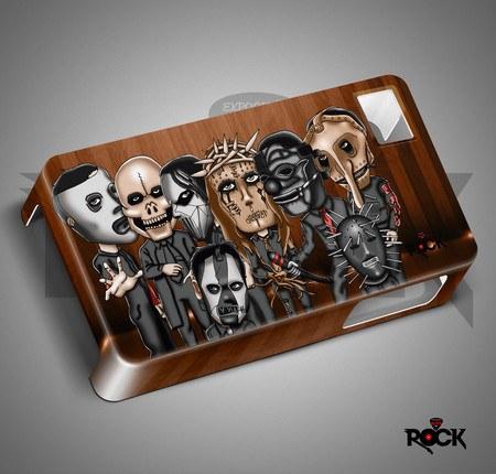 Capa de Celular Exclusiva Mitos do Rock Slipknot