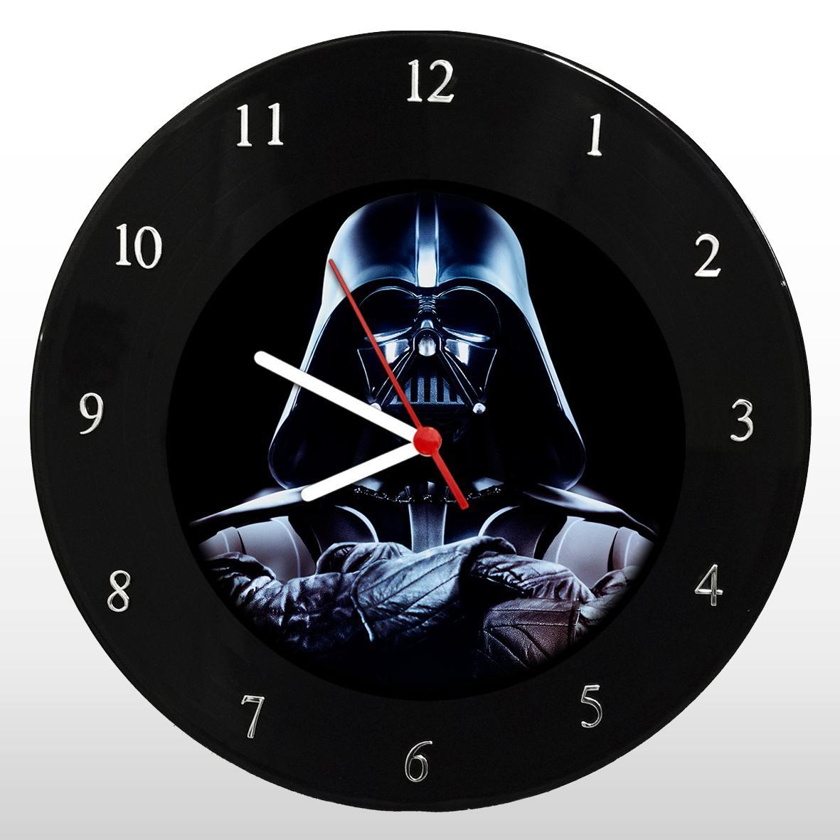 Star Wars - Guerra nas Estrelas - Darth Vader - Relógio em Vinil - Mr. Rock