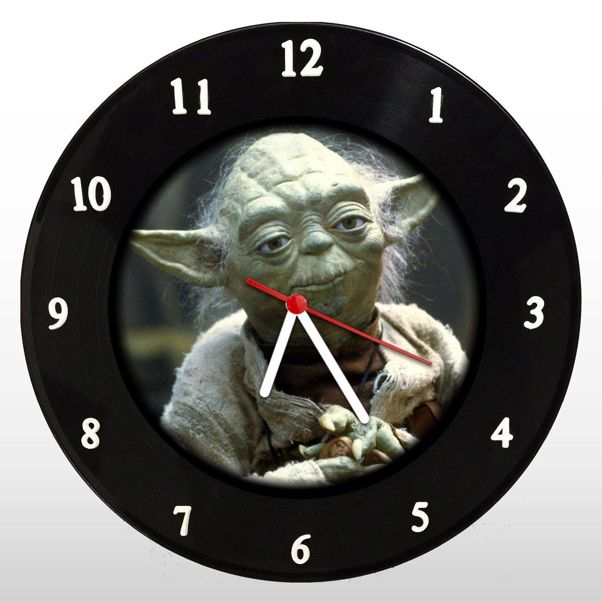 Star Wars - Guerra nas Estrelas - Yoda - Relógio em Vinil - Mr. Rock