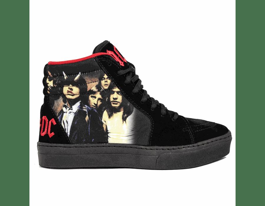 Tênis BandShoes Feminino AC/DC Highway To Hell