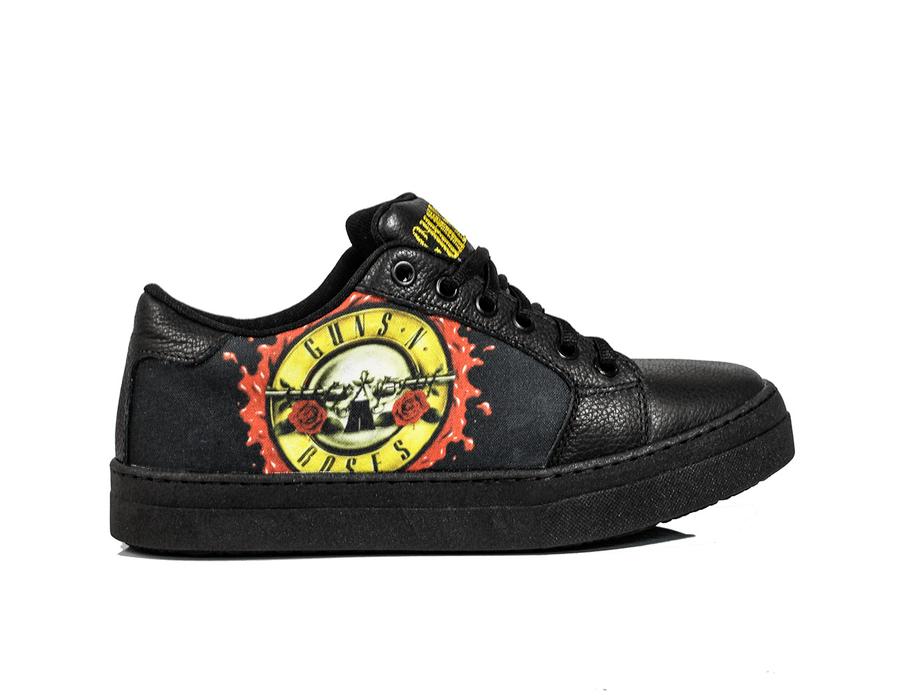Tênis BandShoes Feminino Cano baixo Guns n' Roses