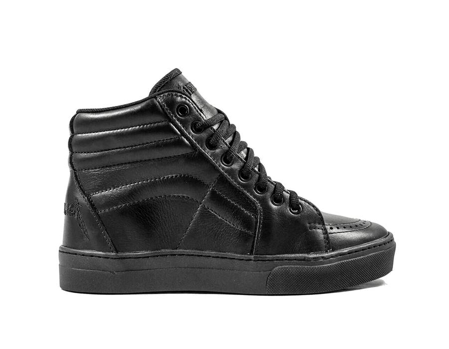 Tênis BandShoes Feminino Metallica Couro Latego