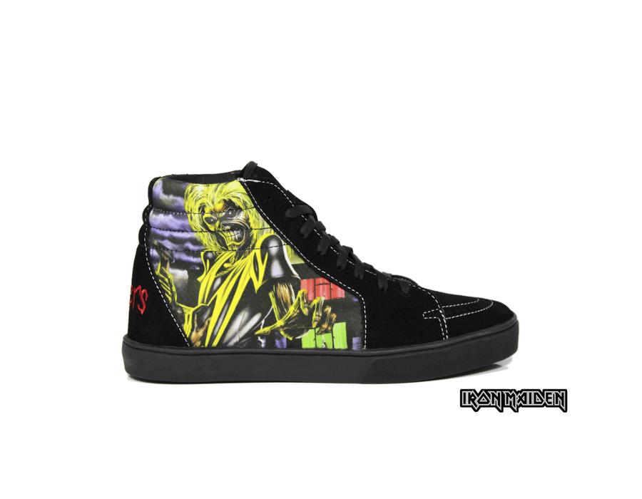 Tênis BandShoes Masculino Iron Maiden Killers
