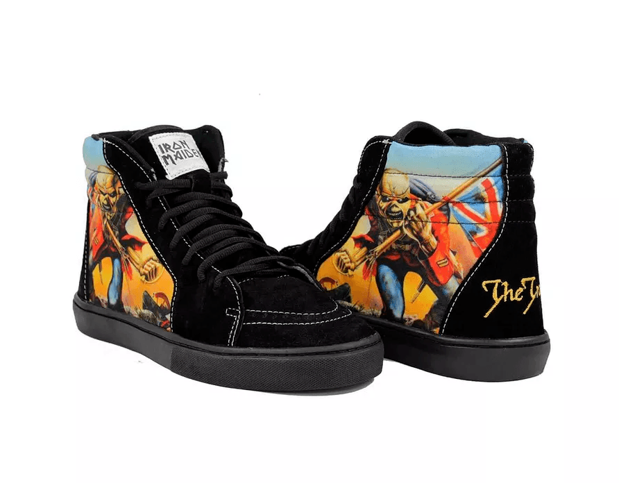 Tênis BandShoes Masculino Iron Maiden The Trooper