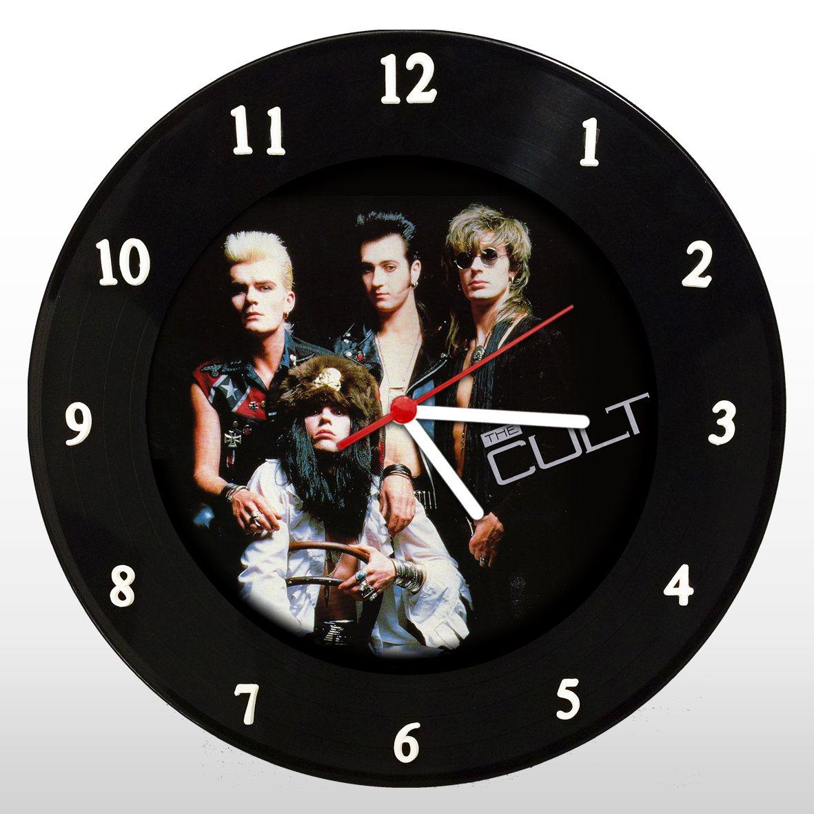 The Cult - Relógio de Parede em Disco de Vinil - Mr. Rock