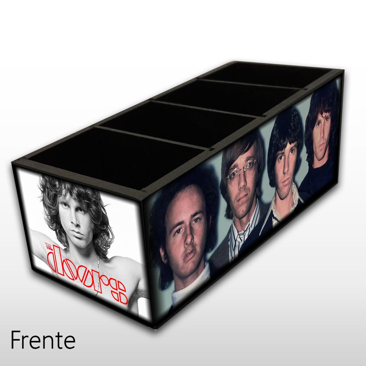 The Doors - Porta Controles em Madeira MDF - 4 Espaços - Mr. Rock
