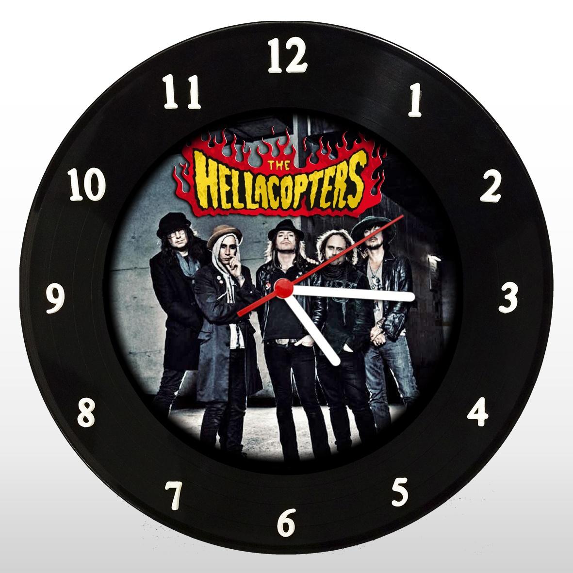 The Hellacopters - Relógio de Parede em Disco de Vinil - Mr. Rock