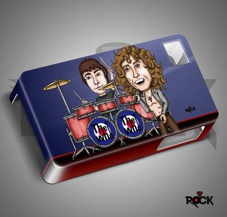 Capa de Celular Exclusiva Mitos do Rock The Who